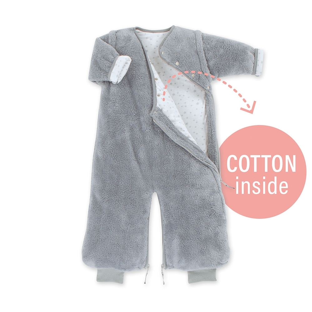 Bemini Magic Bag Υπνόσακος Softy Jersey Grey 2 Tog, 9-24 Μηνών
