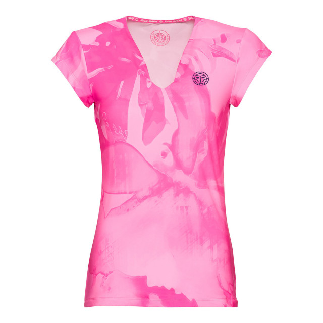 Bidi Badu Bella 2.0 Women s Tech V-Neck Tennis Tee