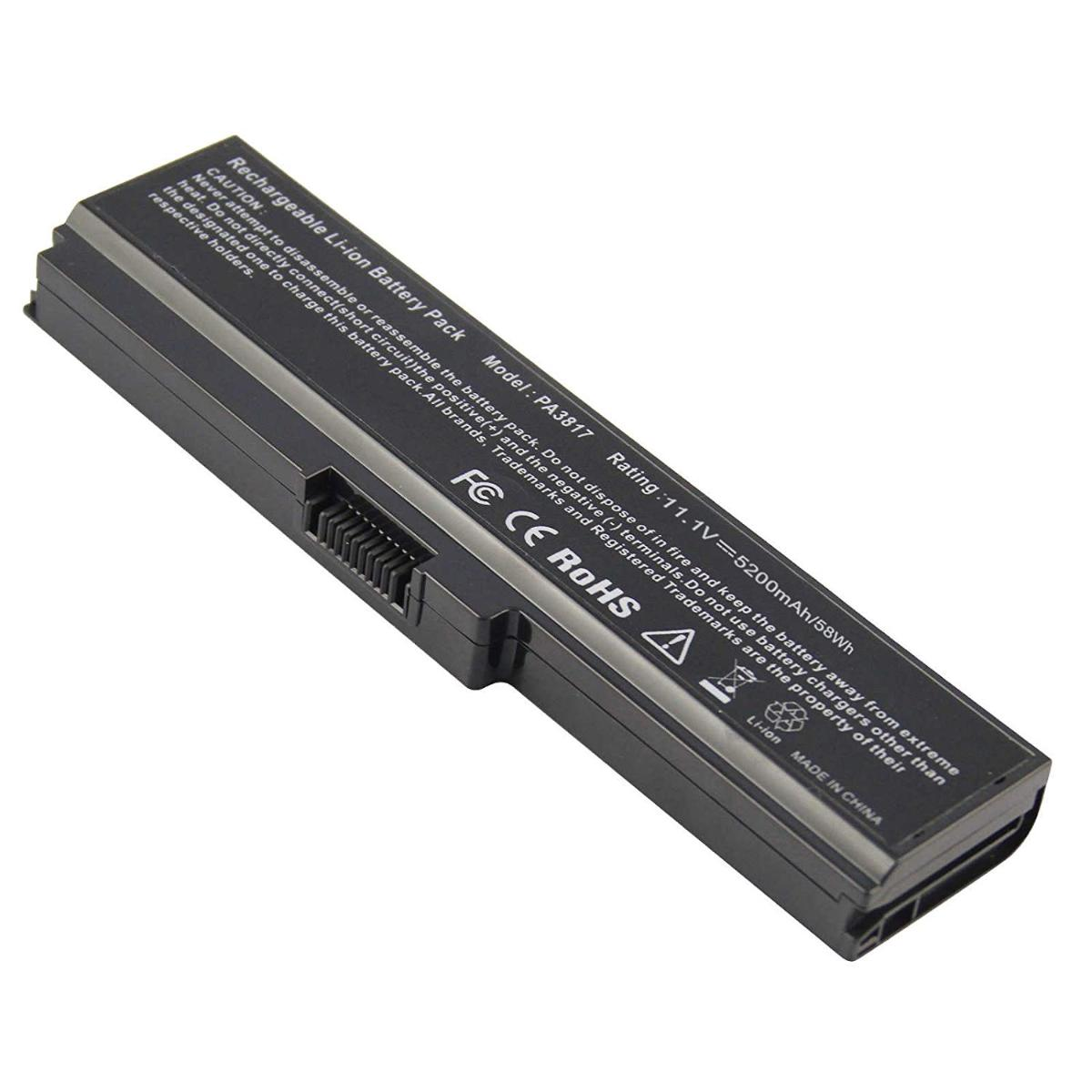 Μπαταρία Laptop - Battery for Toshiba Satellite U500-11D U500-11G U500-12C U500-119 U500-176 U500-178 U500-186 U500-ST5302 U500-ST5305 U500-ST5307 U500-ST6321 OEM Υψηλής ποιότητας (Κωδ.1-BAT0026)