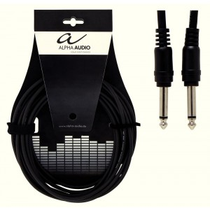 GEWA Basic Line Alpha Audio Patchkabel 0.1m