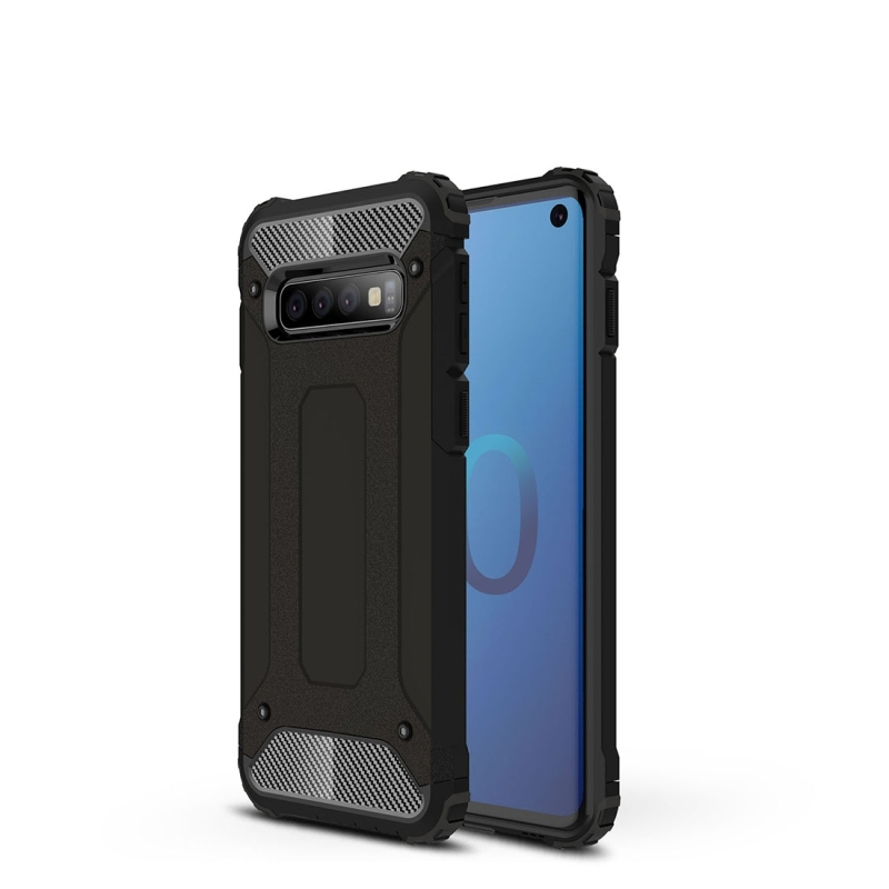 Magic Armor TPU + PC Combination Case for Galaxy S10 (Black)