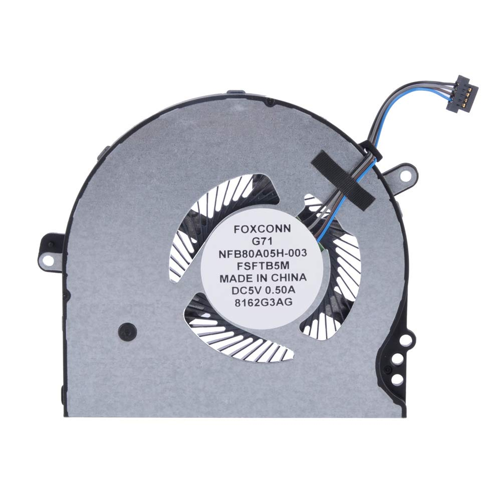 Ανεμιστηράκι Laptop - CPU Cooling Fan HP 14T-BP000 HP 14-bp001TX HP 14-bp001la HP 14-bp002TX HP 14-bp002la HP 14-bp003TU HP 14-bp003TX HP 14-bp003la HP 14-bp004TU HP 14-bp004TX HP 14-bp004la (Κωδ. 80498)