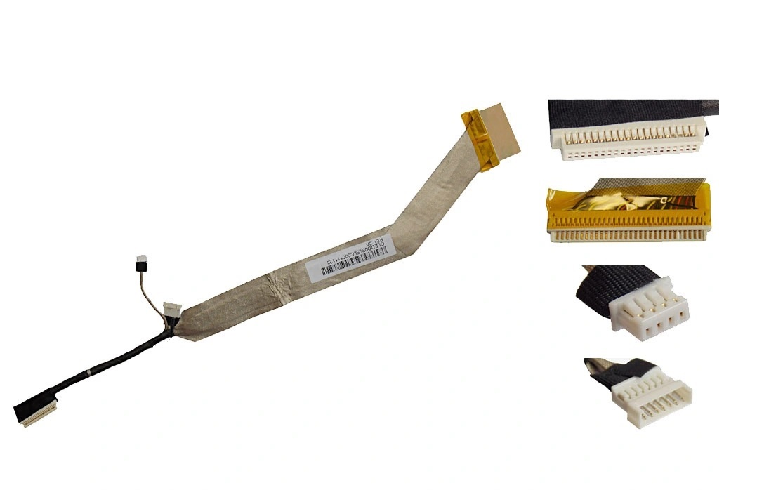 Kαλωδιοταινία Οθόνης - Flex Video Screen Cable LCD cable for Toshiba Satellite A300 A300D A305 A310 6017B0147901 A305D DD0BL5LC000 (Κωδ. 1-FLEX0015)