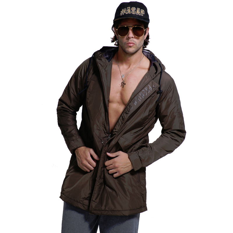 3fa428bd830e ΜΠΟΥΦΑΝ ΑΝΔΡΙΚΟ - MEN HEAVY WEIGHT PARKA (L.KHAKI) - BODY ACTION