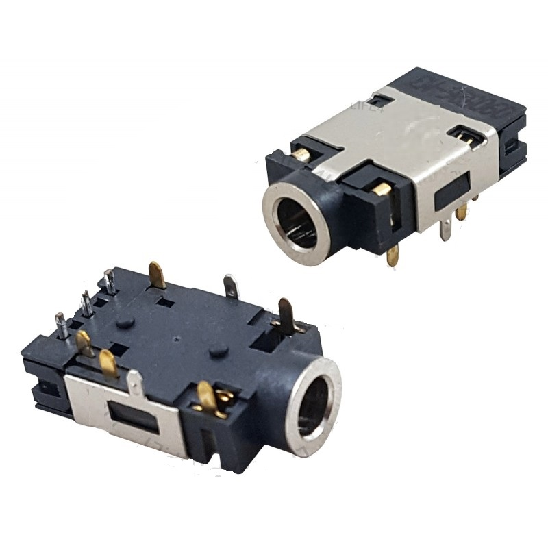 Bύσμα Ήχου - Audio Jack Socket Port για Laptop - 3.5 mm for Acer Asus Dell HP Lenovo (Κωδ.1-AUX004)