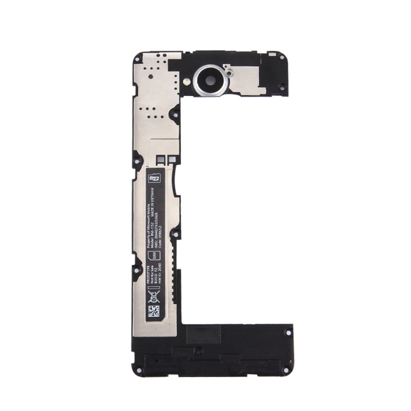 Back Plate Housing Camera Lens Panel for Microsoft Lumia 650