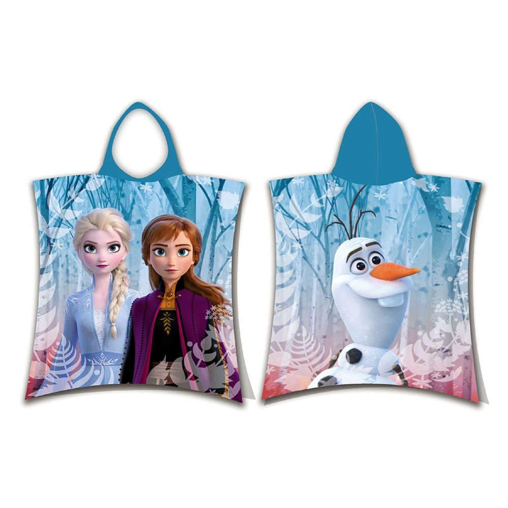 Πόντσο Disney Frozen 02 Multi DimCol One Size 100% Βαμβάκι