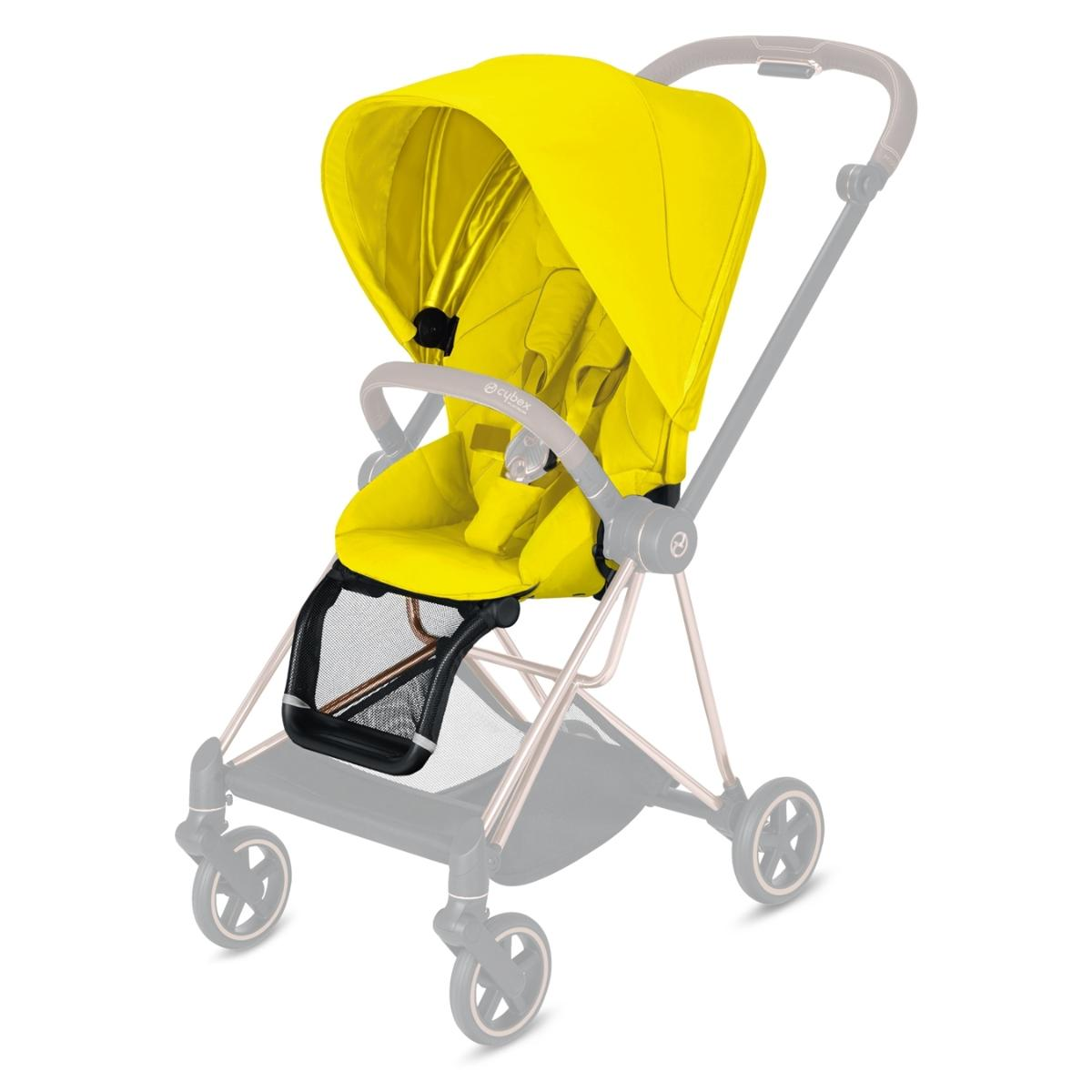 Cybex Κάθισμα Καροτσιού Mios Seat Pack, Mustard Yellow