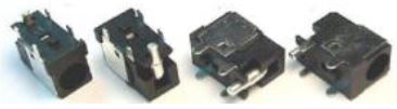 Βύσμα Τροφοδοσίας DC Power Jack Socket Fujitsu L6825 Series Advent Arm Ashton Digital Hyperdata Systemax Uniwill Nobilis N34AS1 N351S1 (κωδ.3019)