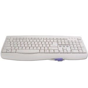 PS/2 Keyboard Turbo Crown (Beige) 108-Key