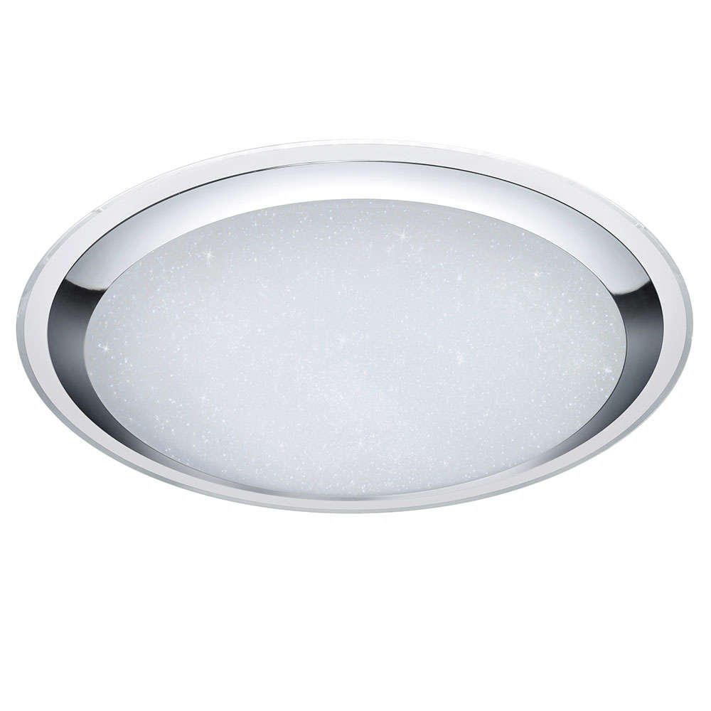 Πάνελ Led Miko 675610106 D85 95W 9600lm 3000 - 5500K Chrome Trio Lighting Στρόγγυλο