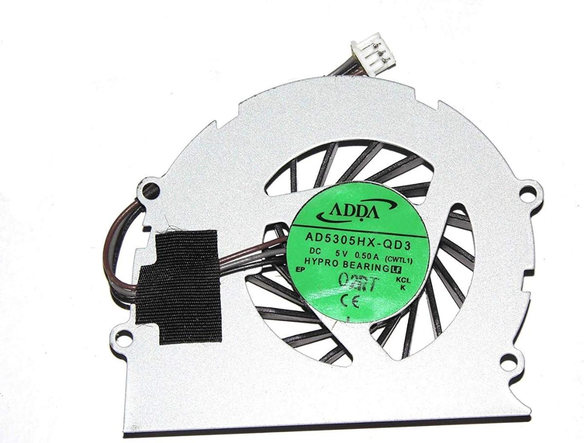 Ανεμιστηράκι Laptop - CPU Cooling Fan TOSHIBA Satellite Pro T110 T130 T130D T135 135D CPU Fan,ADDA AD5305HX-QD3 (Κωδ. 80482)