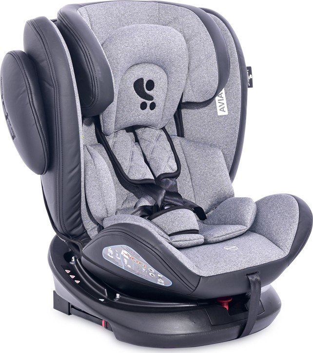 Lorelli Κάθισμα Αυτοκινήτου Aviator SPS plus Isofix 0-36 Kg Black-Light Grey 10071301901 10071301901