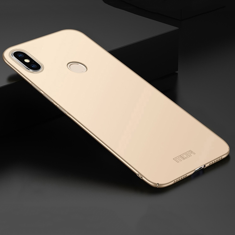 MOFI Frosted PC Ultra-thin Hard Case for Xiaomi Mi Max 3 (Gold) (MOFI)