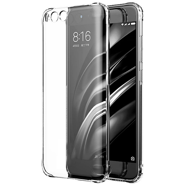 Back Case Ultra Slim 0,5mm - Xiaomi Mi 6 Transparent