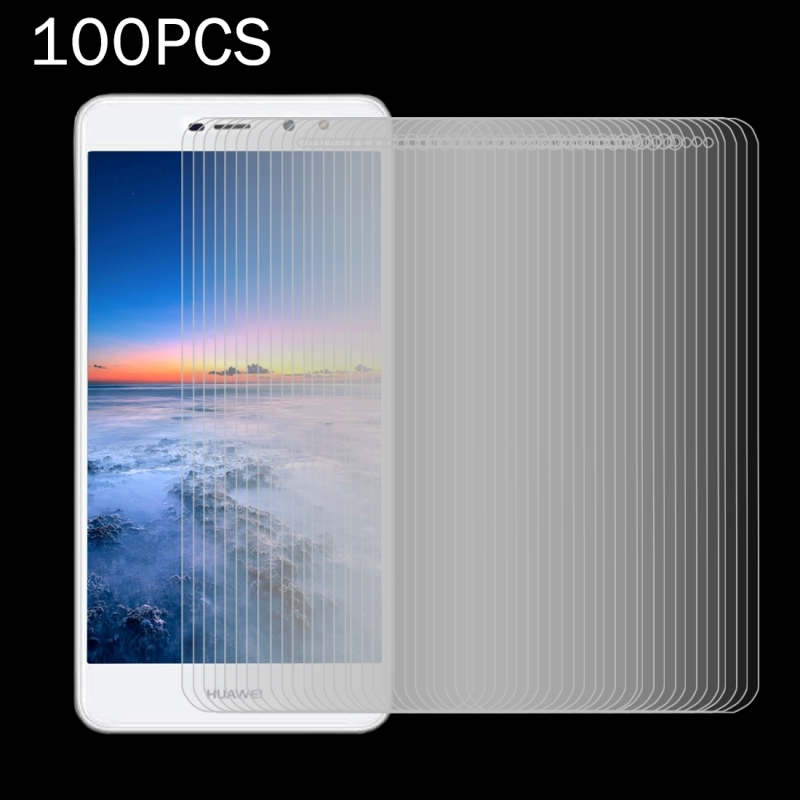 100 PCS for Huawei Y5 2017 0.3mm 9H Surface Hardness 2.5D Explosion-proof Full Screen Tempered Glass Screen Film