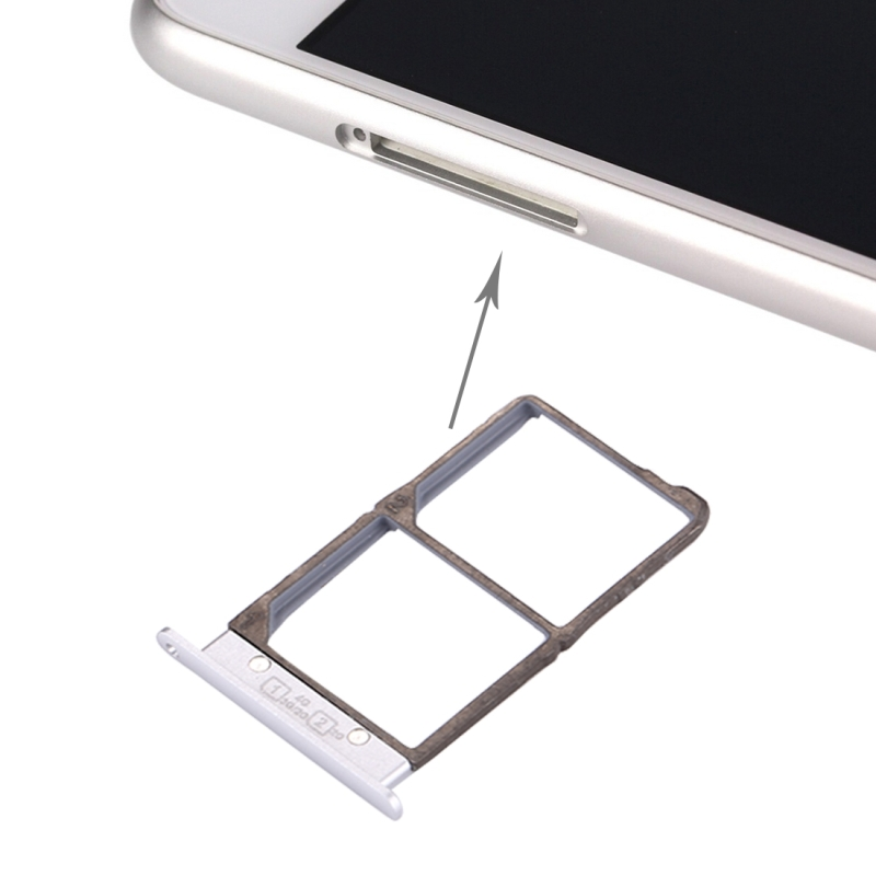 For Lenovo S90 / S90-T / S90-E / S90-U SIM Card Tray(Silver)