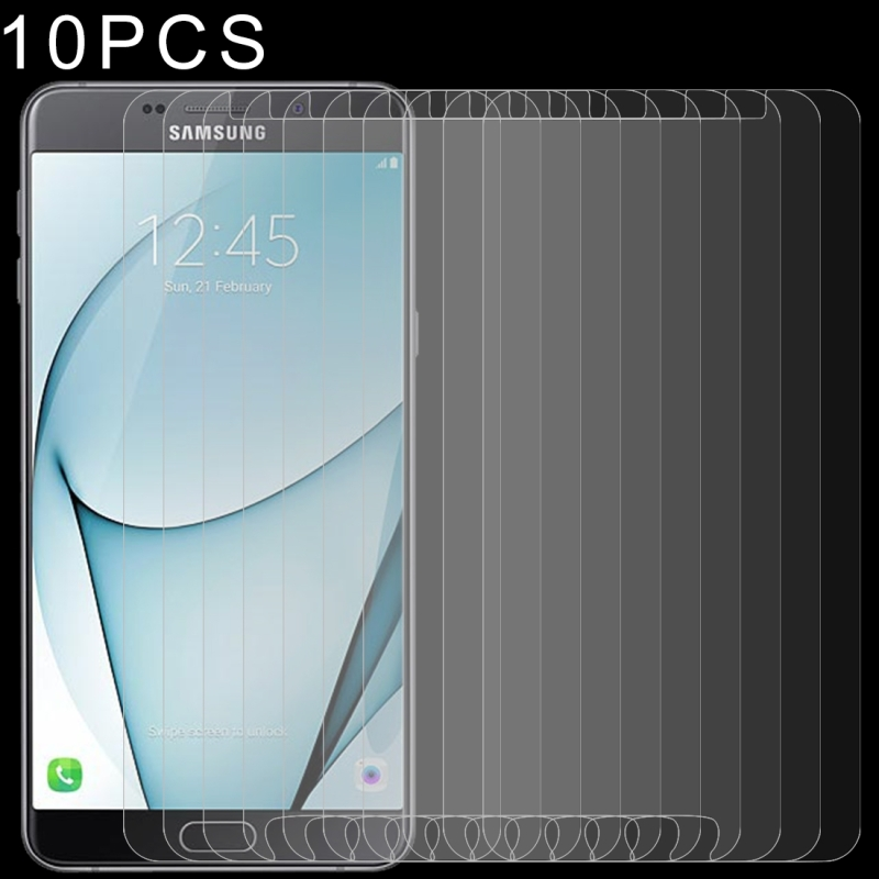 10 PCS 0.26mm 9H 2.5D Tempered Glass Film for Galaxy A9 Pro (2016)