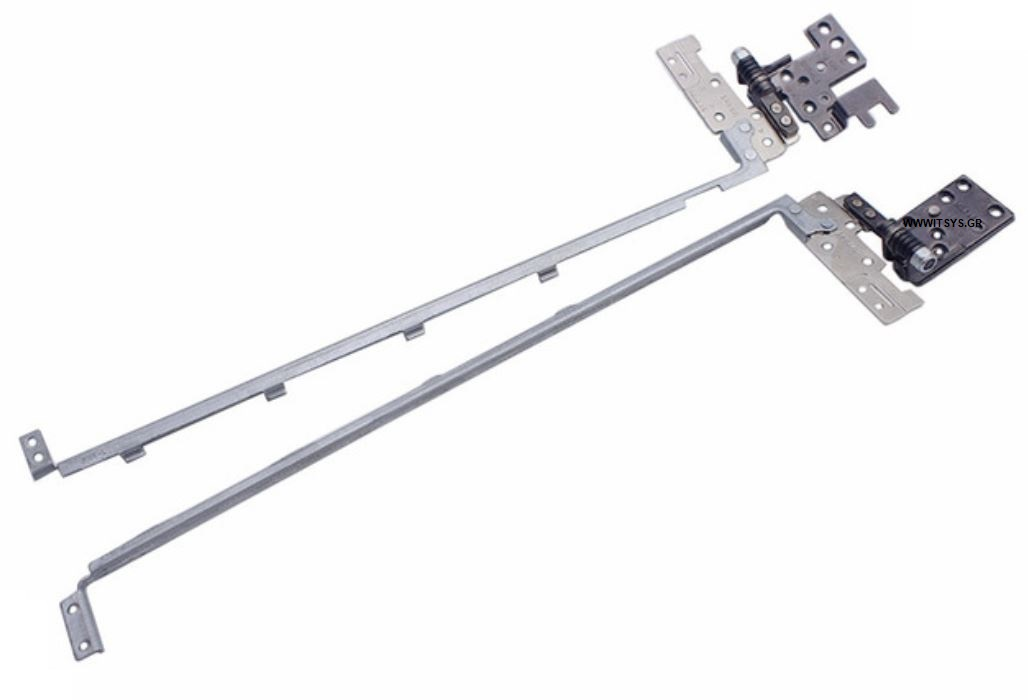 Μεντεσέδες - Hinges Bracket Set For DELL Latitude E5440 VAW30 AM0WQ000200 AM0WQ000300 E5440HNG LCD Left + Right hinges WITHOUT TOUCH (Κωδ.1-HNG0298)