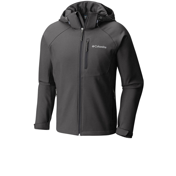 Ανδρικά Μπουφάν Columbia Cascade Ridge II Softshell Γκρι Ziogas all-sports 12369bff029