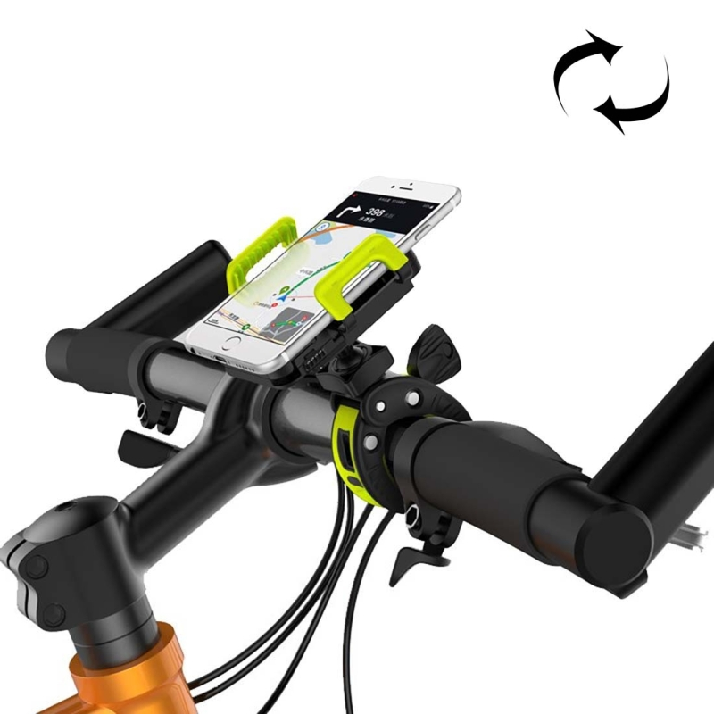 IDMIX M03 360 Degree Rotation Bicycle Phone Holder for iPhone 6 & Plus / iPhone 5 & 5C & 5S / iPhone 4 & 4S, Clip Size: 0mm-50mm