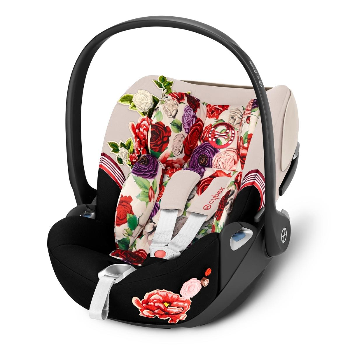 Cybex Κάθισμα Αυτοκινήτου Cloud Z i-Size Fashion Collection Spring Blossom Light