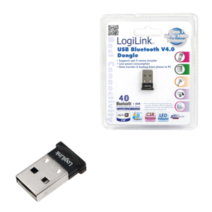 LogiLink Bluetooth 4.0, Adapter USB 2.0 Micro (BT0037)