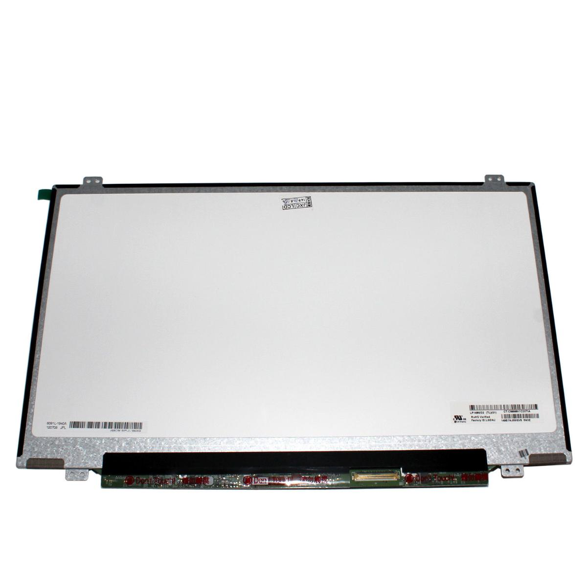 Οθόνη Laptop 14.0 LED Screen 1600x900 LED 40 pin Slim (Kωδ. 1-2824)