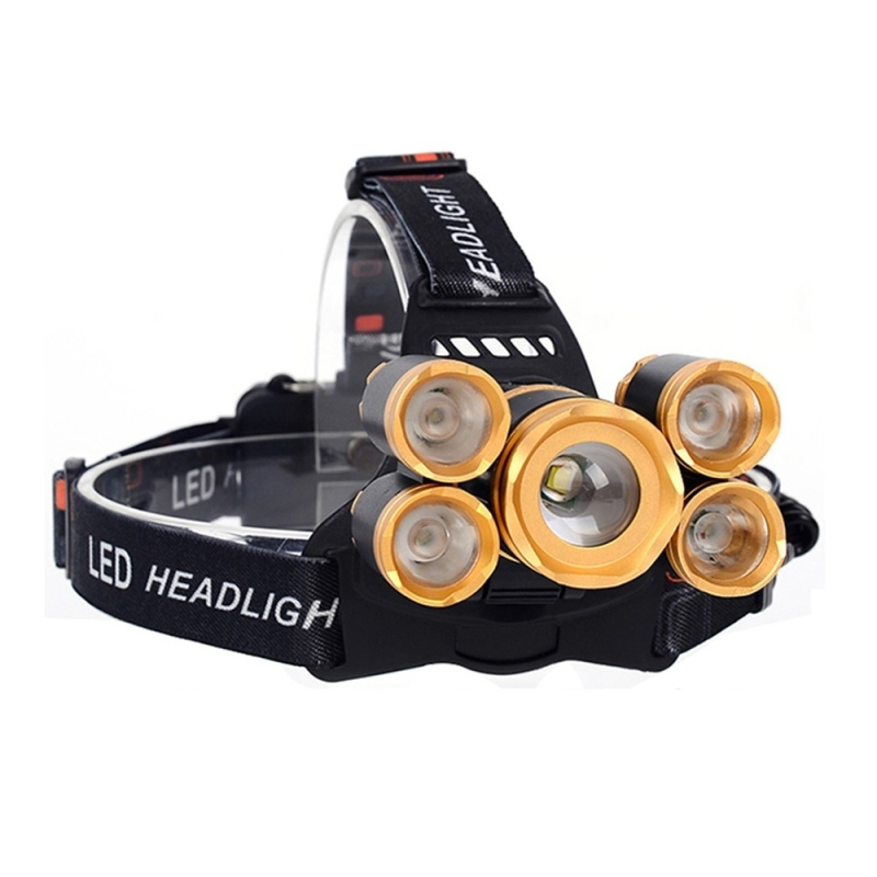 YWXLight 30W Adjustable Focus Head Light 4 Mode Cold White Rechargeable LED Head Light (YWXLight)