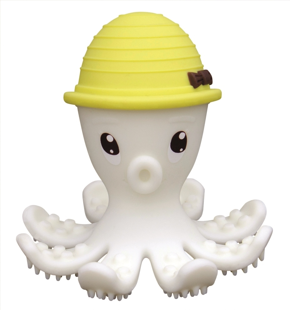 Baby To Love 3D Μασητικό Σιλικόνης Yellow Octopus