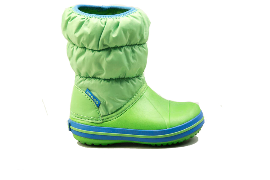 4b544705417 Παιδικά Προπαιδικά Παπούτσια Crocs Winter Puff Boot Kids Green
