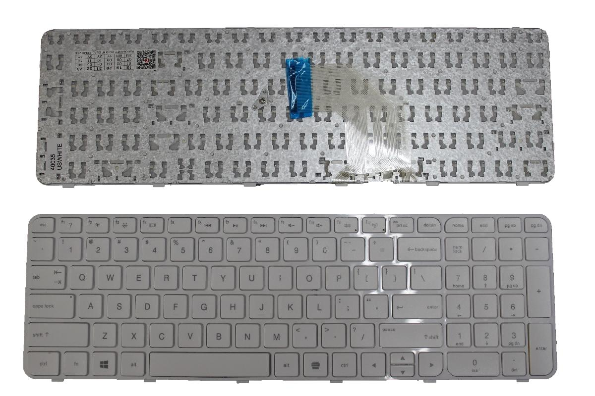 Πληκτρολόγιο Laptop Keyboard HP PAVILION g6-2000 g6t-2000 g6-2200 g6z-2200 g6-2100 g6-2300 G6-2000 2B-04801Q121 2B-04820Q121 2B-04822Q121 673613-031 681800-001 681800-031 681800-041 WHITE KEYBOARD(Κωδ.40035USWHITE)