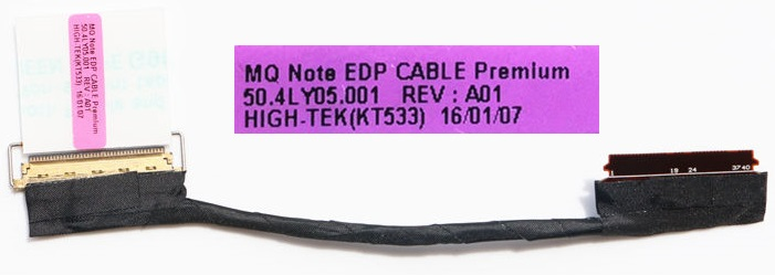 Kαλωδιοταινία Οθόνης-Flex Screen cable IBM Lenovo ThinkPad X1 Carbon Gen 2 Gen 3 50.4LY05.001 00HM151 Video Screen Cable (Κωδ. 1-FLEX0486)