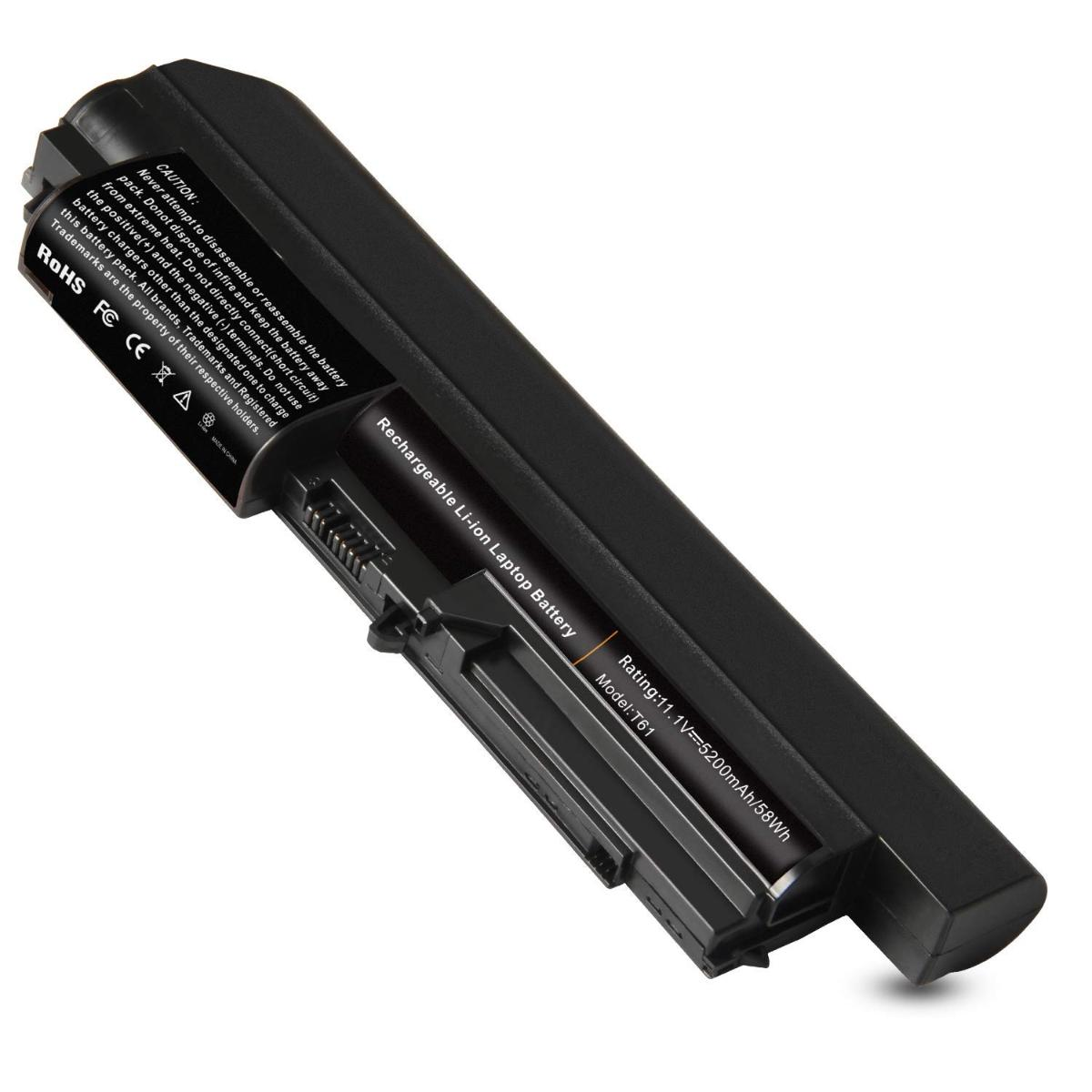 "Μπαταρία Laptop - Battery for Lenovo ThinkPad R61i 7742 ThinkPad T400 ThinkPad T400 2764 T400 2765 T400 6473 ThinkPad T400 7417 ThinkPad T61 (14.1"" widescreen) T61 1959 T61 6377 OEM Υψηλής ποιότητας (Κωδ.1-BAT0012(4.4Ah))"