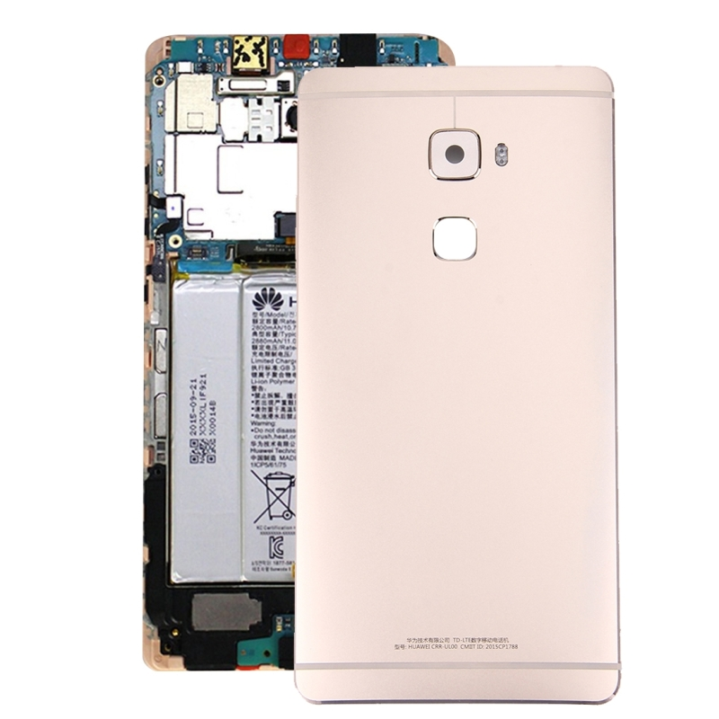 For Huawei Mate S Battery Back Cover(Gold)