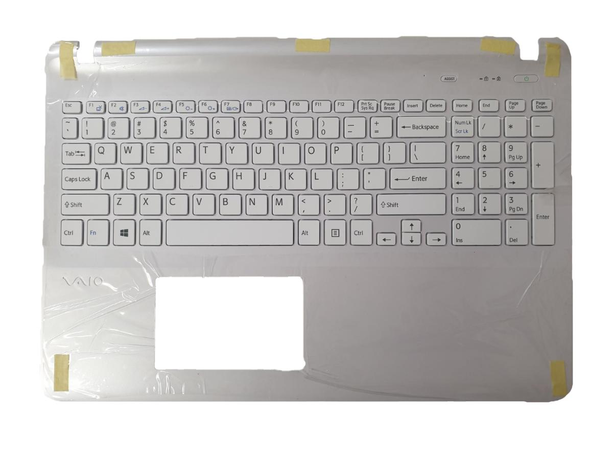 Πληκτρολόγιο Laptop Sony VAIO 15 15E SVF15 SVF152 SVF153 SVF15A SVF152C SVF15E (Not Fit SVF15N) Series SVF152C29M SVF15NE2E SVF152A29M SVF15A1M2ES 149239521US MP-12Q23US-920 Laptop Keyboard (Κωδ. 40139USWHITETOPCASE)