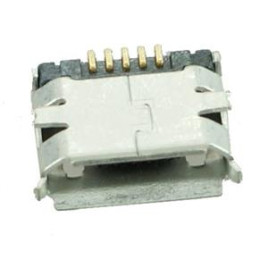 Bύσμα USB Laptop - USB 2.0 Connector Micro USB, M DIP, Silver Port Jack Socket Connector (Κωδ. 1-USB074)
