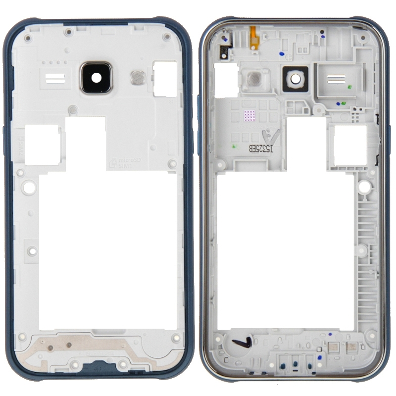 Middle Frame Bezel for Galaxy J1 / J100(Blue)