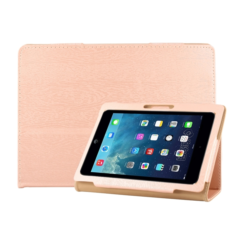 Universal 9.6 inch / 10.1 inch Tablets PC Protective Leather Case(Gold)