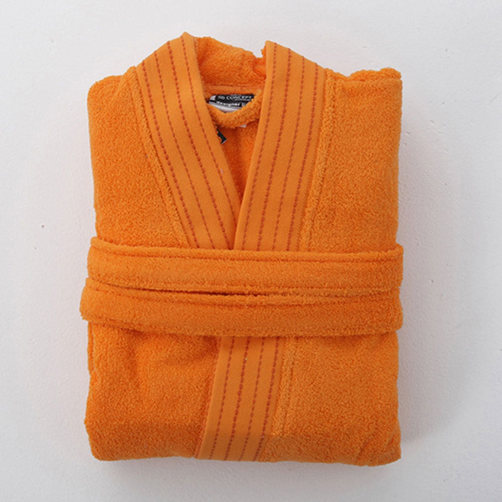 Μπουρνούζι Designer Orange Sb Home Medium