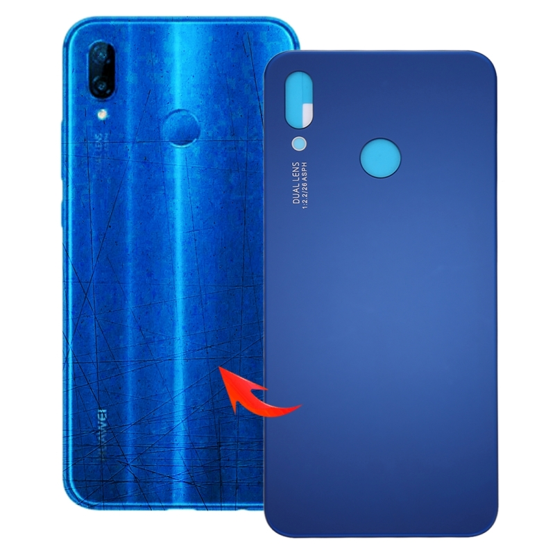 Back Cover for Huawei P20 Lite(Blue)
