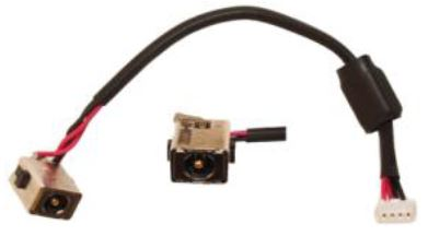 Βύσμα Τροφοδοσίας DC Power Jack Socket HP Compaq Mini 110-1160ev HP Mini 148V-110 HP MINI 1103 210 2000 2100 2145 20110924 210-2080sv (κωδ.3168)