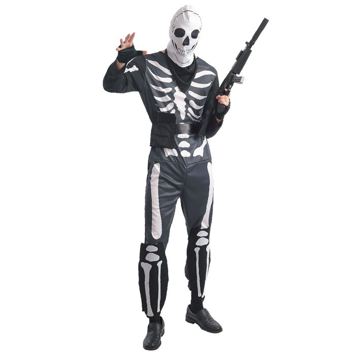 No 4-6 - ΣΤΟΛΗ ΠΑΙΔΙΚΗ SKELETON FIGHTER Carnavalista 232242