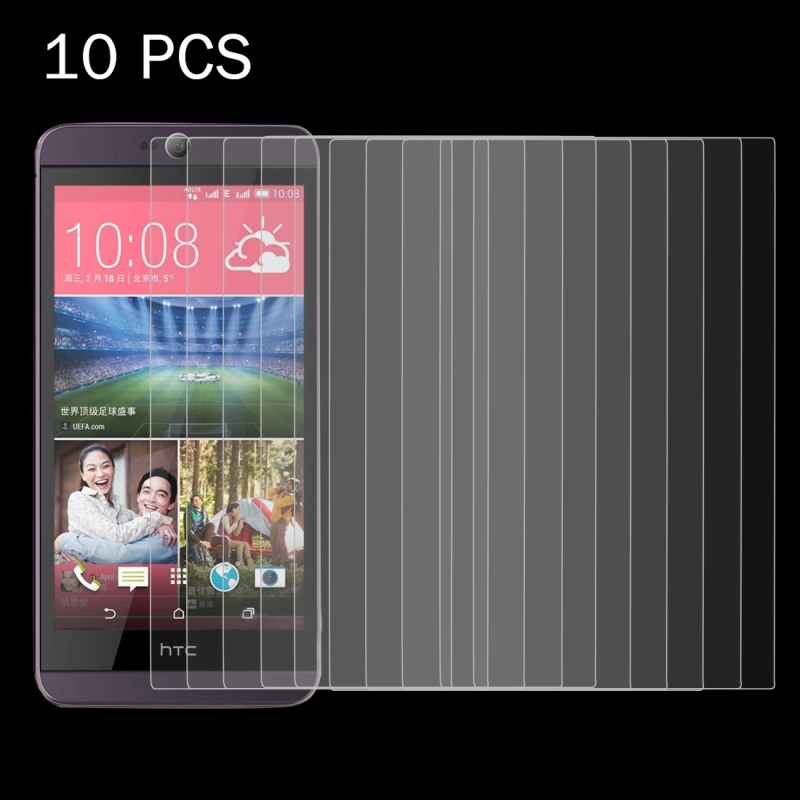 10 PCS for HTC Desire 626 0.26mm 9H Surface Hardness 2.5D Explosion-proof Tempered Glass Screen Film