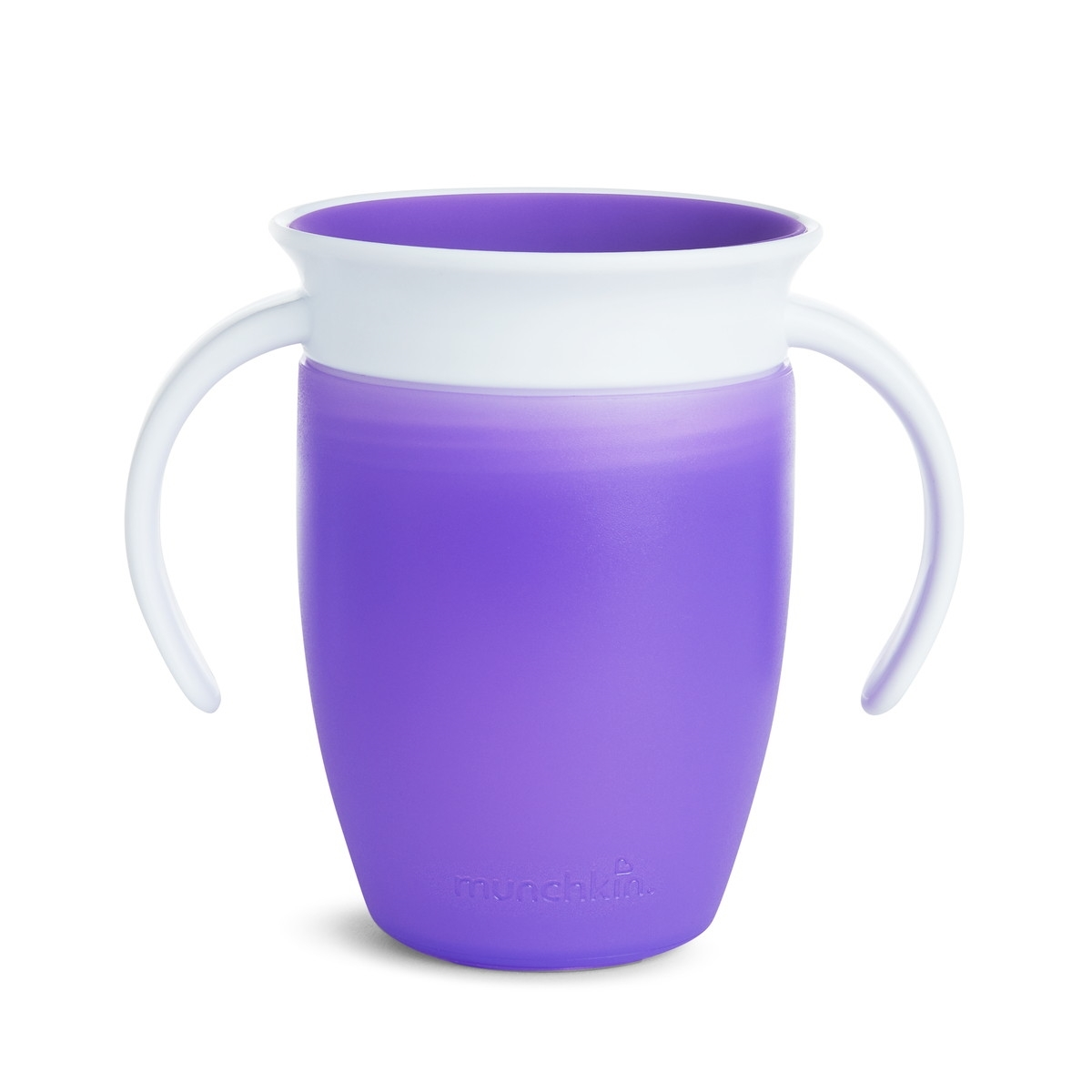 Munchkin Κύπελο Miracle 360° Trainer Cup Purple/White 207ml.