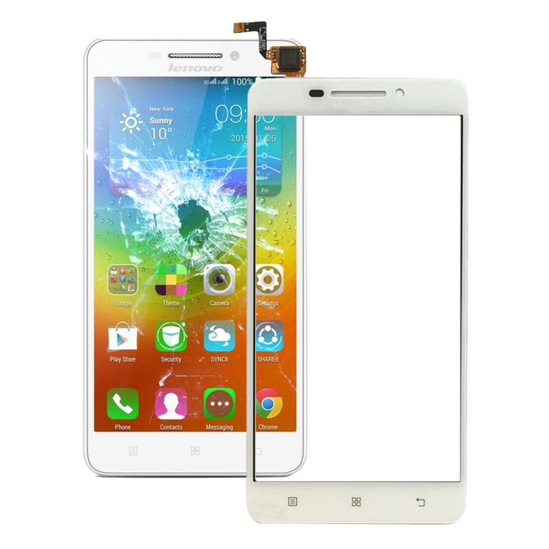 For Lenovo A5000 Touch Panel(White)