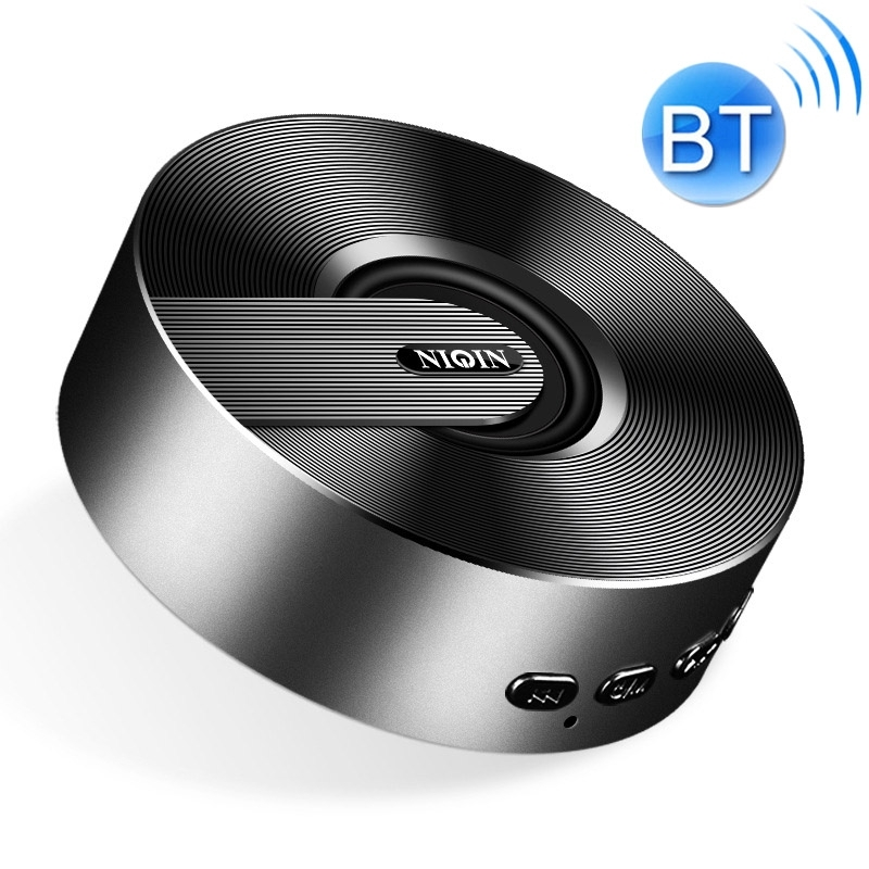 S1 Mini Bluetooth Speaker WeChat Collection Voice Broadcaster (Black)