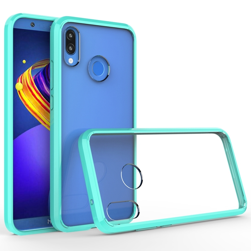 Scratchproof TPU + Acrylic Protective Case for Huawei P20 Lite(Green)