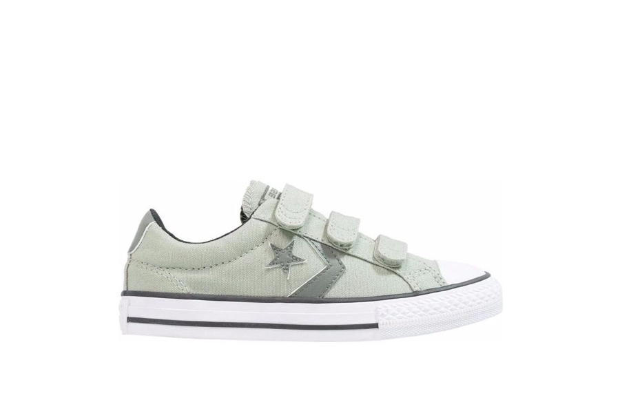 f2bd5f93737 Παιδικά Προπαιδικά Παπούτσια Converse All Star Chuck Player 3V Olive Ziogas  all-sports