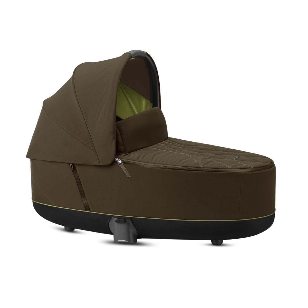Cybex Lux Carry Cot for Priam, Khaki Green